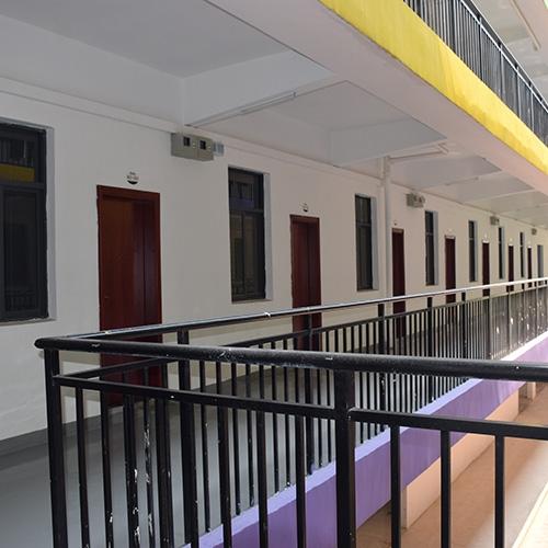 Dormitory balcony